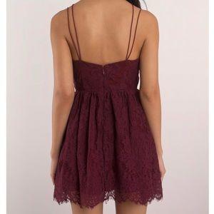 ... Tobi Dresses - Tobi EMALEA WINE SKATER DRESS timeless design f81c2  02b9e  Sweet Desire Black ... a7713d583